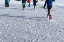 Entrainement jeunes à la Serra, le 09 janvier 2021